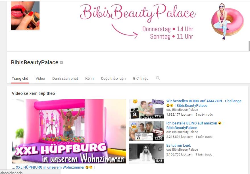 Học tiếng Đức qua Beauty-Vlogger