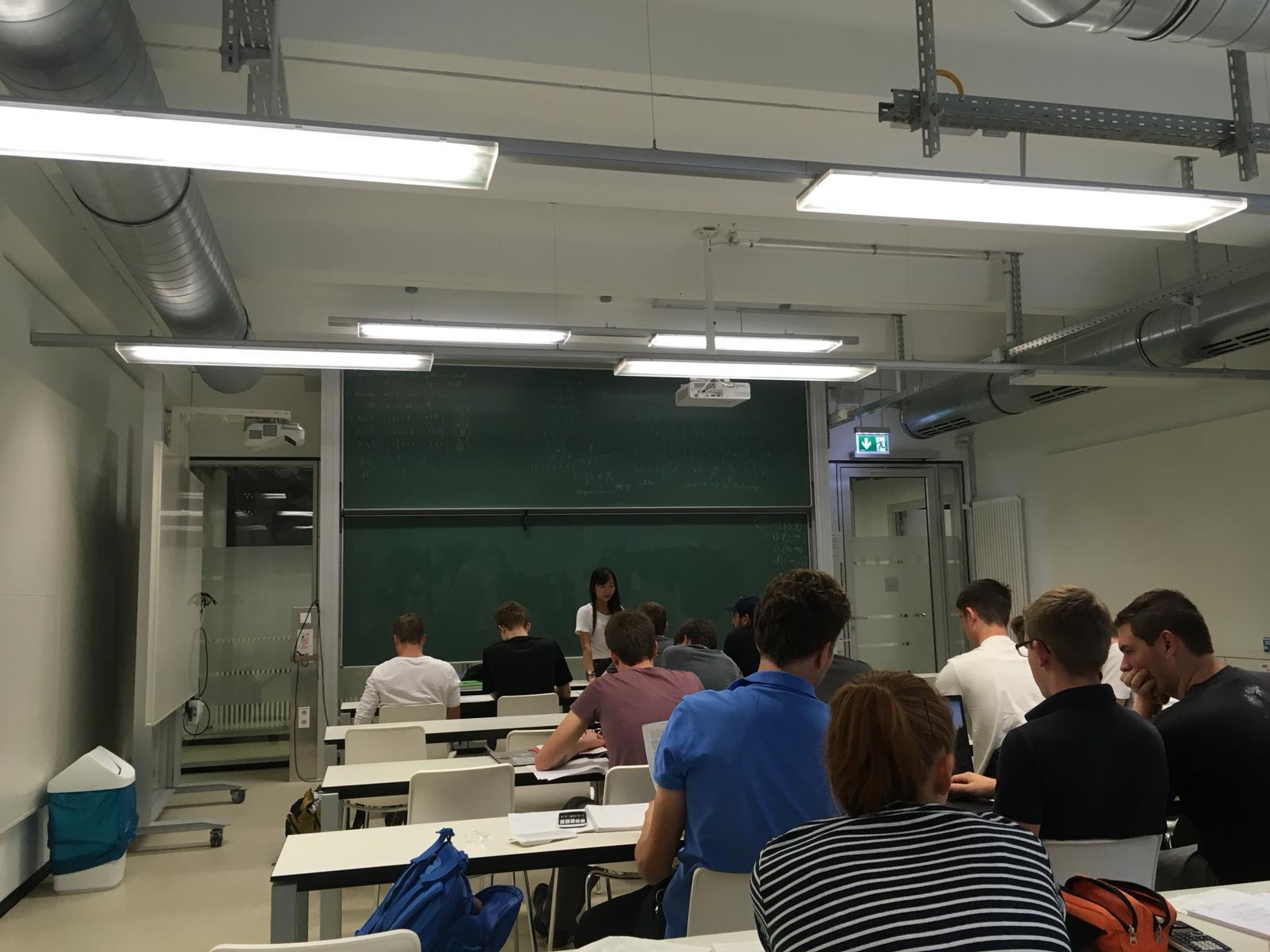 Lần đầu làm Tutorin cho sinh viên Đức